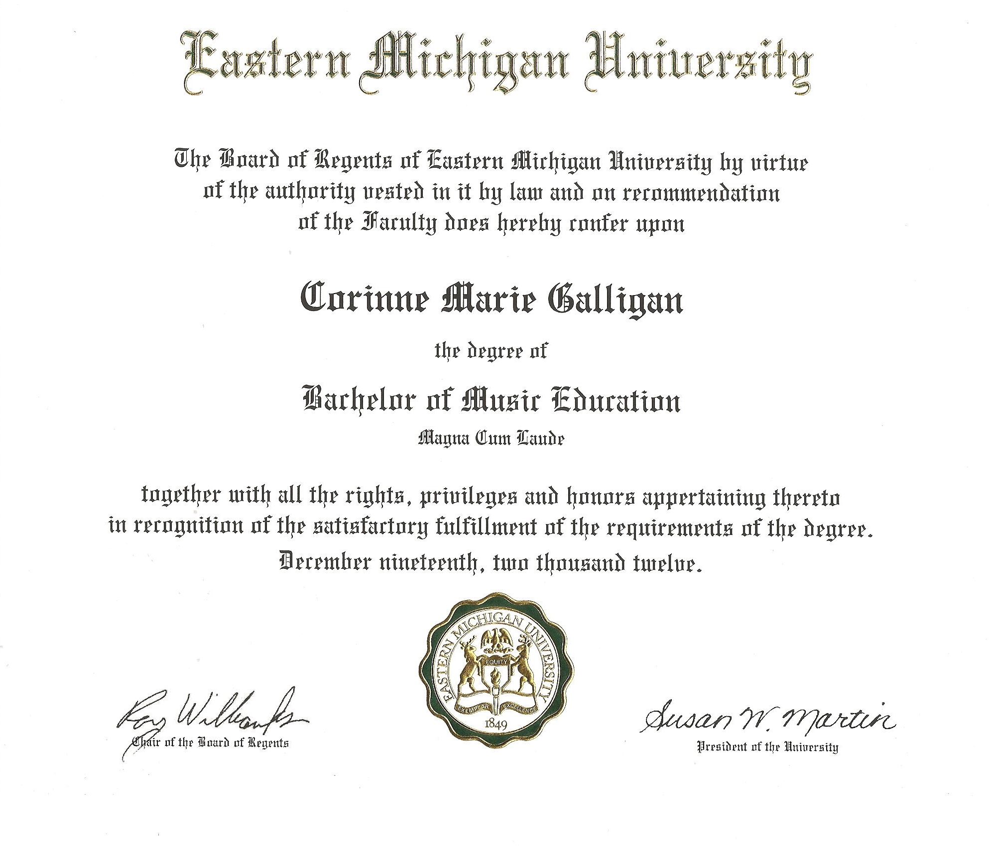 eastern michigan university honors thesis Master's theses, doctoral dissertations, and graduate capstone projects in the  emu digital  undergraduate honors theses in the emu digital commons.